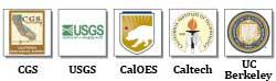 CGS | USGS | Caltech | CalEMA | UCB
