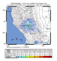 northern california intensity map, small