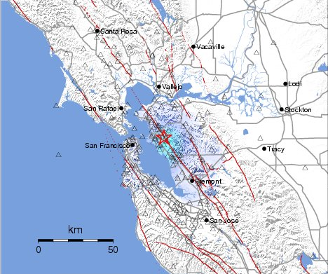 Northern California ShakeMap Link